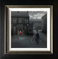 Leigh Lambert - Ello Ello Ello, Giclee on Canvas