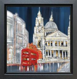 Edward Waite - Evening at St Pauls - New Merging Concepts Style
