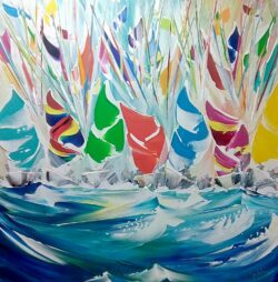 Jan Nelson - Tight Spinnaker Work!