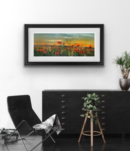 Poppy Moment Kimberley Harris Original Painting