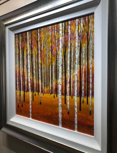 Alex Jawdokimov Framed Original Painting