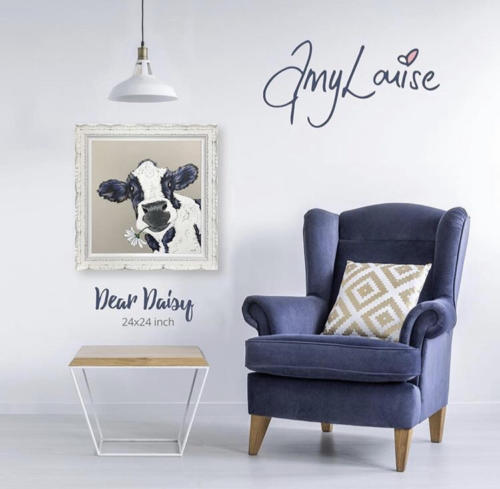Amy Louise art in situ Dear Daisy