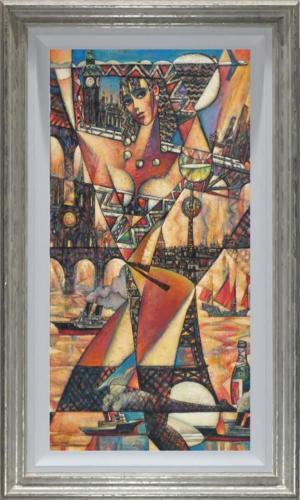 Andrei Protsouk Bon Voyage Original Painting