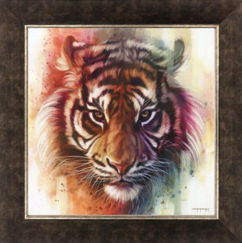 Ben Jeffery Eye of the Tiger Giclee on-Canvas