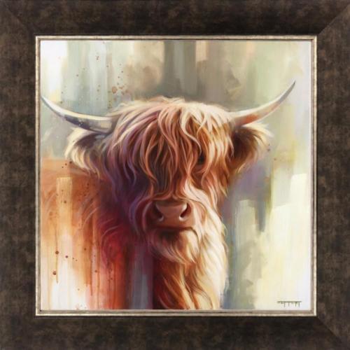 Ben Jeffery Hamish Giclee on canvas