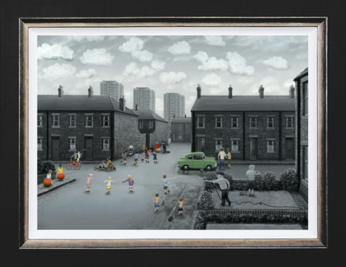 Leigh Lambert All Our Yesterdays Giclee on Canvas Artist Proof